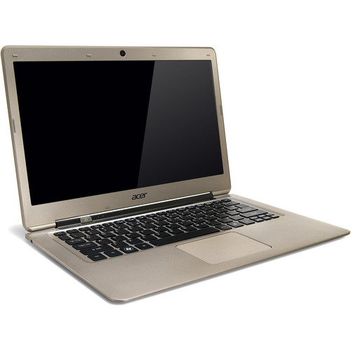 """Acer Aspire S3-391-6676 13.3"""" Ultrabook Computer (Champagne)"""