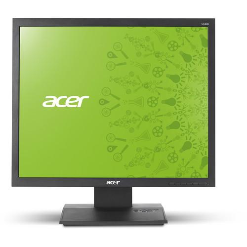 "Acer V193L AJObd 19"" HD LED Monitor with VGA & DVI Inputs"