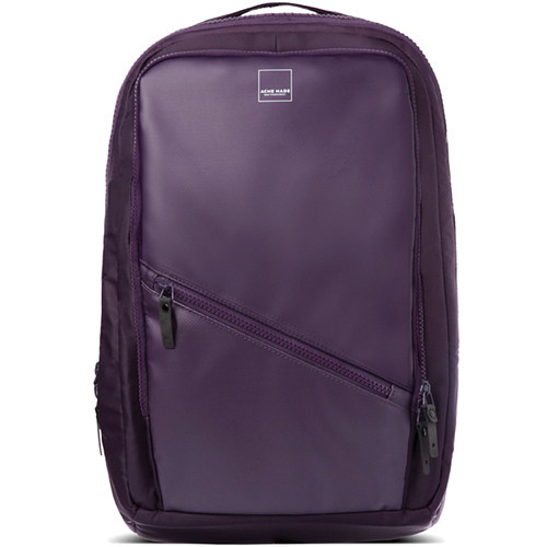 """Acme Made The Union Pack with a 16.4"""" Laptop Pocket (Purple)"""