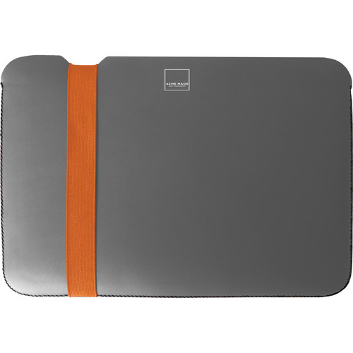 "Acme Made Skinny Sleeve for 13"" MacBook Pro (Gray/Orange)"
