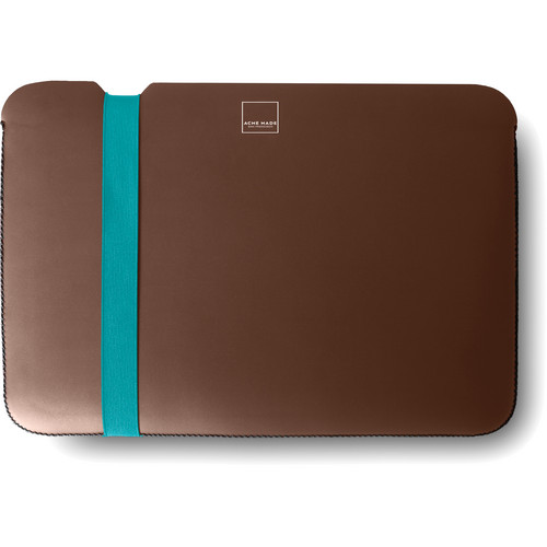 "Acme Made Skinny Sleeve for a 13"" MacBook Air Laptop (Java/Teal)"