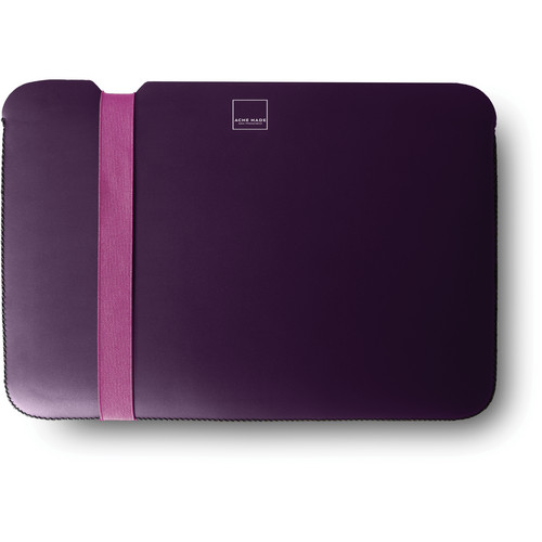 """Acme Made Skinny Sleeve for a 13"""" MacBook Air Laptop (Purple/Pink)"""