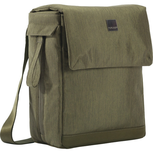 Acme Made Montgomery Street Courier (Olive Green)