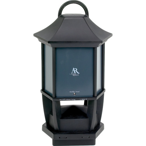 Acoustic Research AW827 Wireless Post Topper Lantern-Style Indoor/Outdoor Speaker