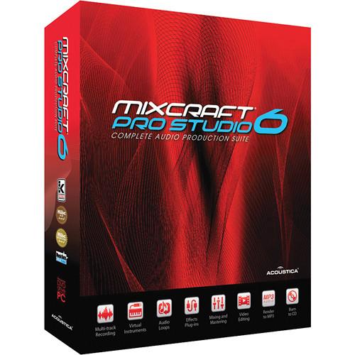 Acoustica Mixcraft Pro Studio 6 - Multi-Track Recording Software