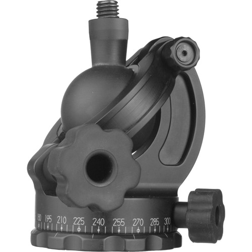 """Acratech Ultimate Ballhead without Quick Release, with Left Rubber Knobs & 3/8""""-16 Screw - Supports 25 lb (11.3 kg)"""