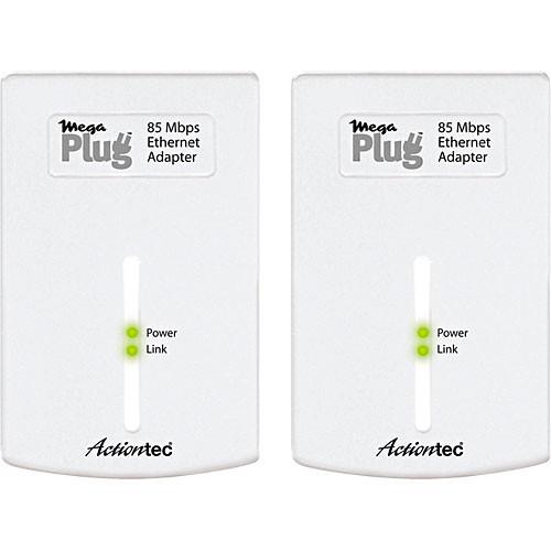 Actiontec MegaPlug 85Mbps Ethernet Adapter Kit