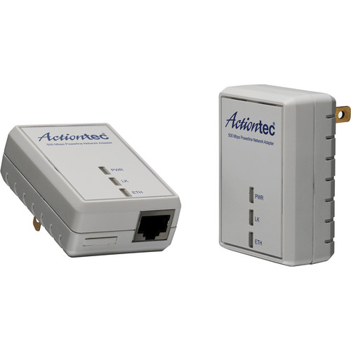 Actiontec PWR511K01 500Mbps Powerline Adapter Kit