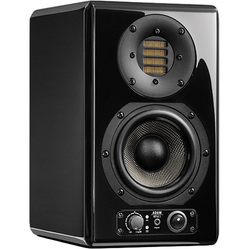"Adam Professional Audio ARTist 3 80W 4.5"" Active 2-Way Monitor Speaker (Single, Black)"