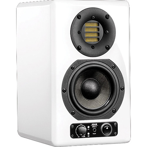 "Adam Professional Audio ARTist 3 80W 4.5"" Active 2-Way Monitor Speaker (Single, White)"