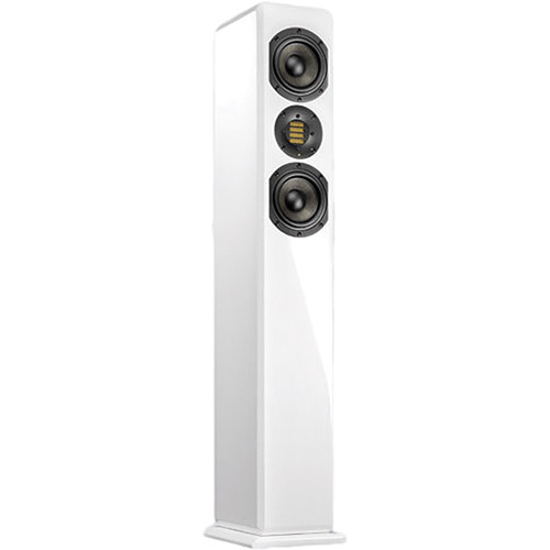 "Adam Professional Audio ARTist 6 150W Dual 4.5"" Active Floorstanding Speaker (Single, White)"