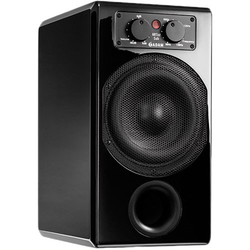 "Adam Professional Audio ARTist Sub 210W 7"" Active Subwoofer (Black)"