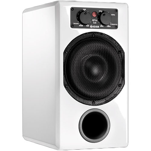 "Adam Professional Audio ARTist Sub 210W 7"" Active Subwoofer (White)"