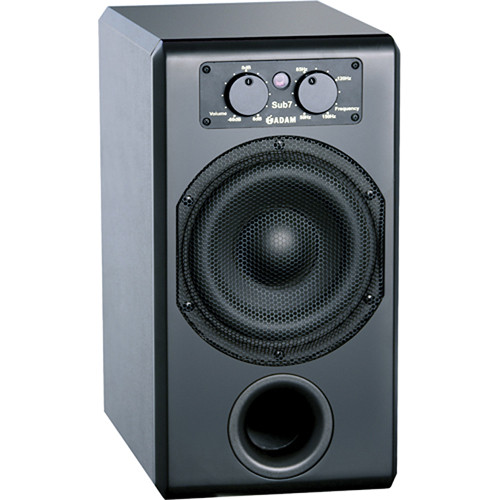Adam Professional Audio Sub7 Active Subwoofer for use with A5 Studio Monitors (Flat Back)