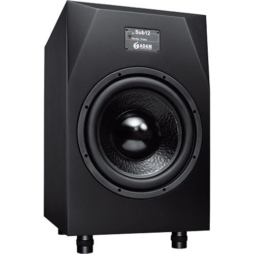 "Adam Professional Audio Sub12 - 300W 12"" Active Subwoofer"
