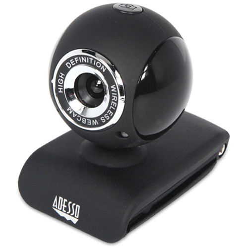 Adesso CyberTrack V10 2.4 GHz Wireless Webcam