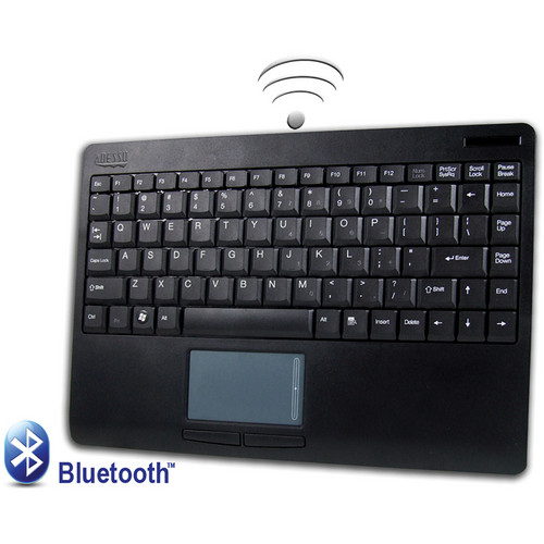 Adesso Bluetooth SlimTouch Mini Touchpad Keyboard