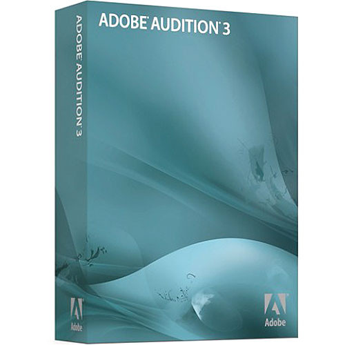 Adobe Audition 3 - Audio Recording, Mixing, Editing and Mastering Software