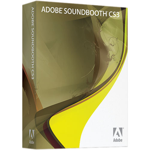 Adobe Soundbooth CS3 - Audio Editing Software - Mac