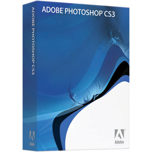 Adobe Photoshop CS3 Image Editing Software for Windows