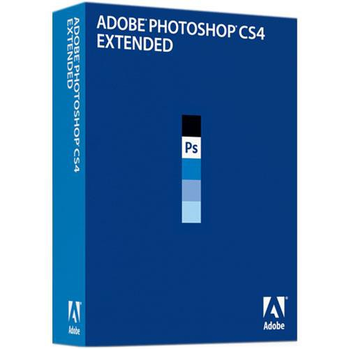 Adobe Photoshop CS4 Extended Image Editing Software for Mac