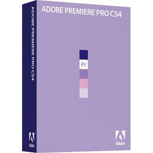 Adobe Premiere Pro CS4 Video Editing Software for Windows