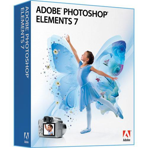 Adobe Photoshop Elements 7 Software for Windows