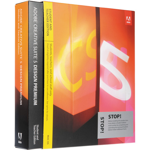 Adobe Creative Suite 5 Design Premium Software for Mac (Student and Teacher Edition)