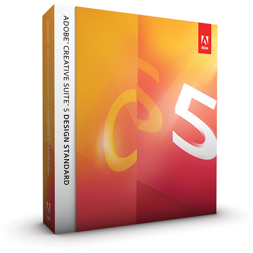 Adobe Creative Suite 5 Design Standard Software for Mac