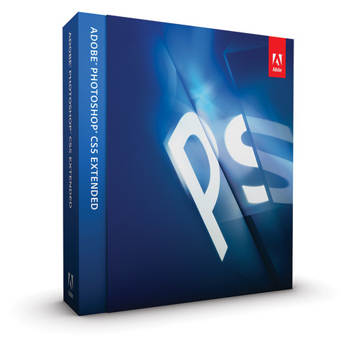 Adobe Photoshop CS5 Extended Software for Mac