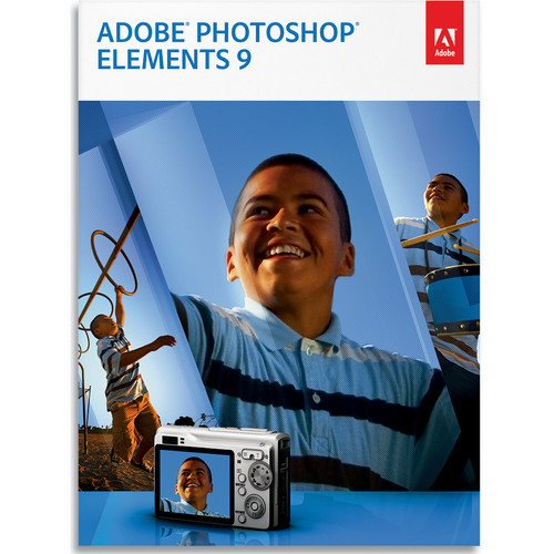 Adobe Photoshop Elements 9 Software for Mac and Windows