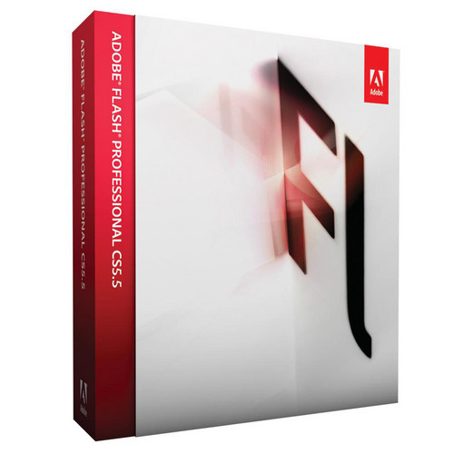 Adobe Flash Professional CS5.5 Software for Windows