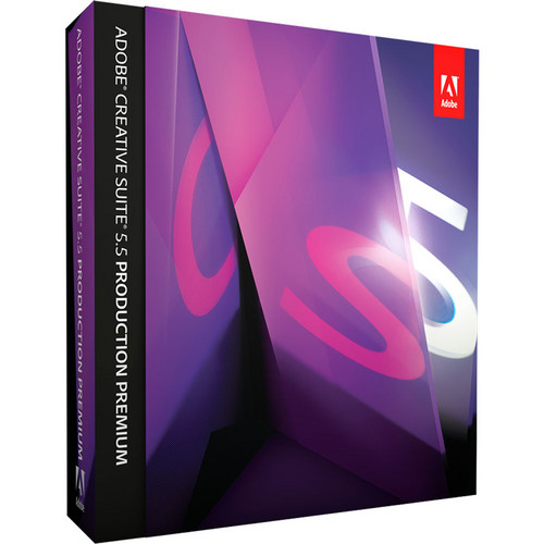 Adobe Creative Suite 5.5 Production Premium for Mac (Upgrade from CS3, CS2, and Earlier Suites)