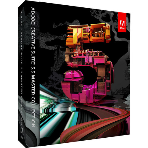 Adobe Creative Suite 5.5 Master Collection Software for Mac