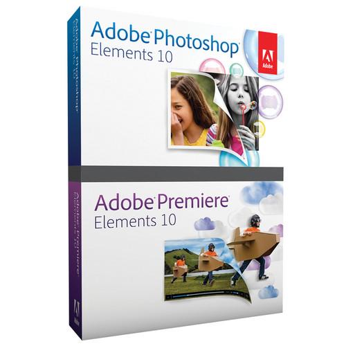 Adobe Photoshop Elements 10 & Premiere Elements 10 for Mac & Windows