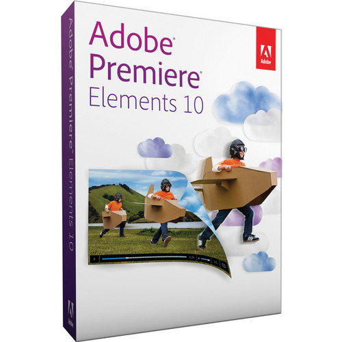 Adobe Premiere Elements 10 for Mac & Windows (Upgrade from Any Previous Version)