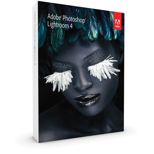 Adobe Photoshop Lightroom 4 Software For Mac And Windows (Boxed Full Version)