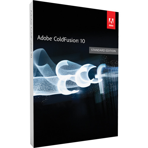 Adobe ColdFusion 10 Standard Edition Software