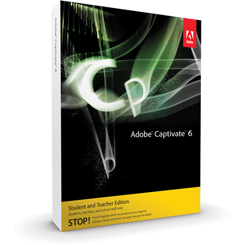 Adobe Captivate 6 for Windows (Student & Teacher Edition)