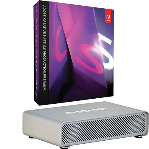 Adobe CS 5.5 Production Premium for Mac and Matrox MXO2 Mini Kit