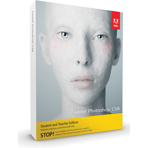 Adobe Photoshop CS6 for Mac (Student & Teacher Edition)
