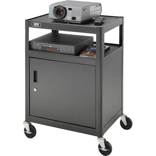 Advance AV2C-42J PixMobile Arc-Welded Projector Cart with Metal Cabinet