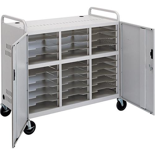 Advance CT-LS30 Laptop Storage Cart (Dove Gray)