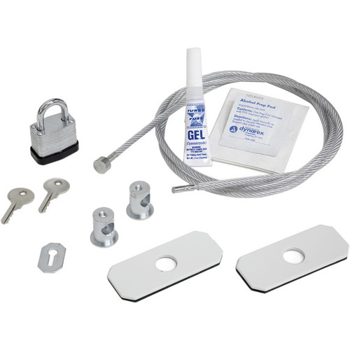 Advance A562 Cable Lock Kits for Carts or Stands