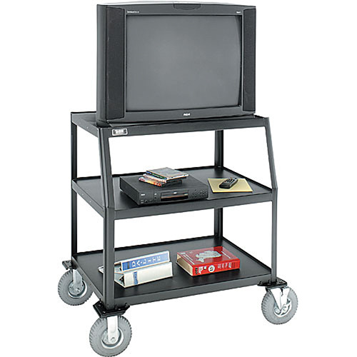 "Advance AV-844LTE3  Monitor/Television Cart with 8"" Pneumatic Tires"
