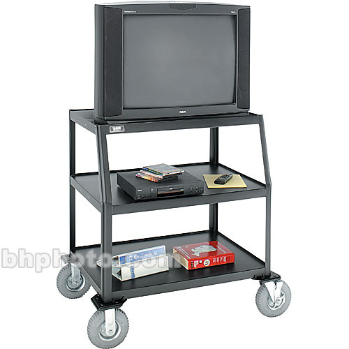 "Advance AV-844LT  Monitor/Television Cart with 8"" Pneumatic Tires"