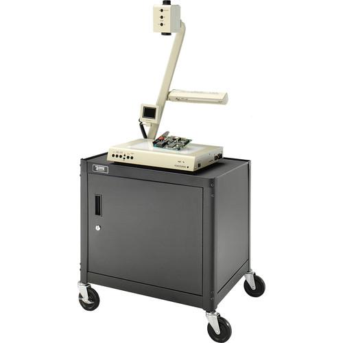"Advance Pixmate Cabinet Cart, Black - 18x24x26"""