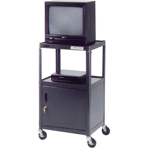 "Advance PIXMate PM2C-42 A/V Cart w/ Cabinet (18 x 24 x 42"")"