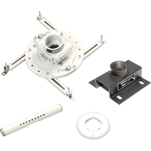 Advance Universal Projector Ceiling Mount Kit (Up to 50 lbs - White)