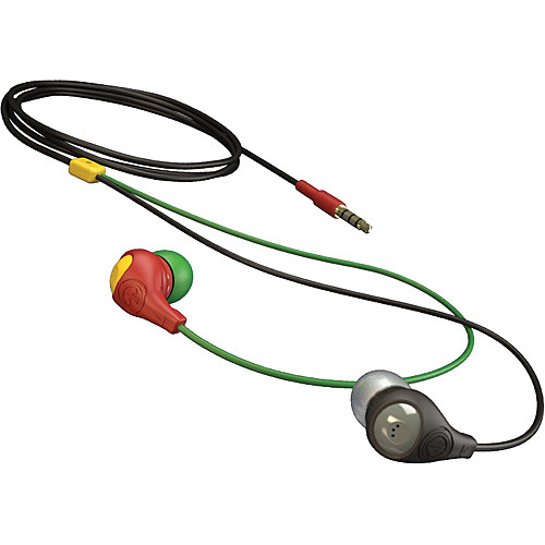 Aerial7 Bullet In-Ear Stereo Headphones (Dark Rasta)